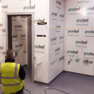 Building Maintenance, staff toilet refurbishment at Young's Seafood.