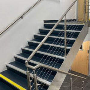 Staircase refurbishment in Hull
