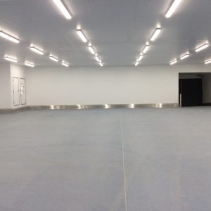 PVC Wall and ceiling cladding in a food factory