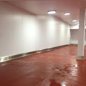 PVC Wall cladding at TSC Scunthorpe