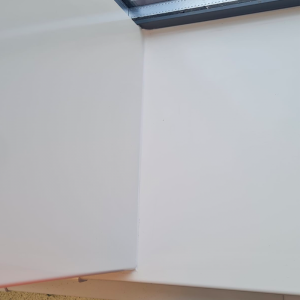 Hygienic Wall Cladding in an office at a baby food factory in Liverpool